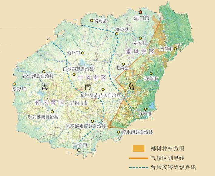 中国台风网路径_东部湿润区 | 中国国家地理网