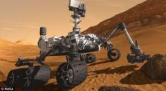 好奇号火星发现首颗铁陨石:宽2米空腔结构怪异