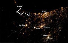 德宇航员拍最悲伤太空照 可见巴以战火