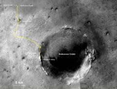 机遇号10年行走超40公里:破外星行驶纪录