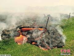 夏威夷火山熔岩不断涌出:已吞噬道路逼近村庄