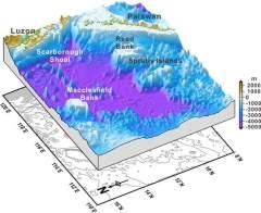 科学家绘制最详尽海底地图 2万座深海山峰曝光