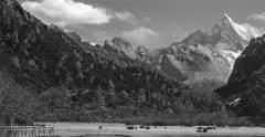雪山冰川主题摄影