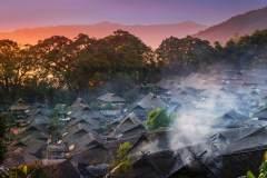 翁丁佤族原始部落的慢生活