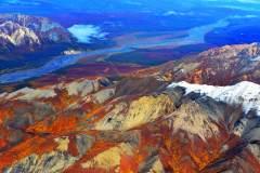 美国丹那利国家公园航拍