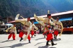 门巴族春节盛会