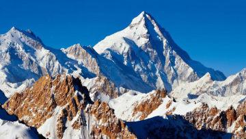 雪山 人与神共同拥有的美丽