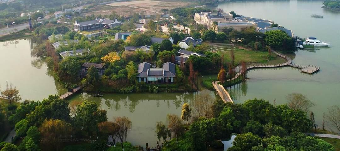 广东佛山绿岛湖公园        图片描述: 广东佛山市南庄镇绿岛湖公园