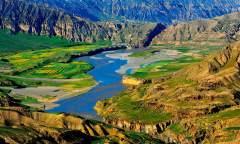 溯源侵蚀,黄河在这里走上高原