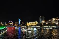 天津海河——璀璨的飘带