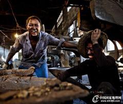 铸锅厂纪实——汗与火的铸造