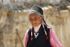 抓拍西藏人物