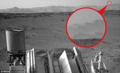 NASA证实神秘火星UFO乃相机故障所致