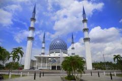 马来西亚的奢华清真寺