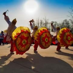 鼓子秧歌舞新春