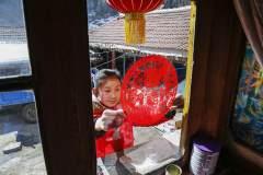 领略传统古村落的中国年