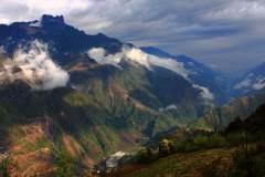 温柔的怒江峡谷