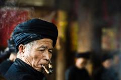 侗寨里的人们