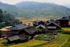 风景如画的西江苗寨