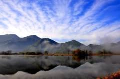 浓雾散去尽显梦幻大九湖