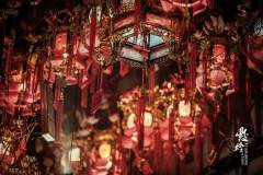 广西岑溪习俗——悬花灯