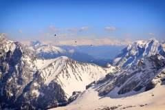 德国第一峰——楚格峰