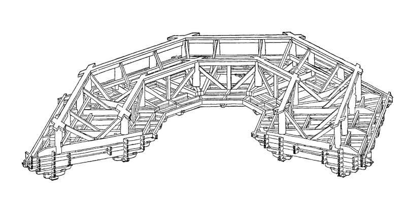 斗拱结构图尺寸