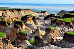 大自然创作的雕塑群 ——国家地质公园乾安泥林