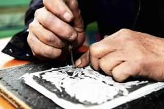 剪纸传统手艺人