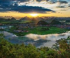 大观云南:盆岭交错炫丽多彩的地貌博物馆