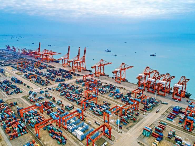 三港合一,造就北部湾最大的外贸集装箱货运码头