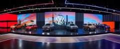 更多車型,更多選擇:大眾汽車品牌于上海國際車展揭幕6款新車型  其中3款為全球首發車型